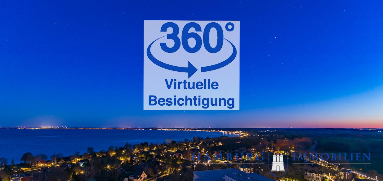 Blick von Panoramic 16.OG Richtung Scharbeutz und Timmendorf bei Nacht