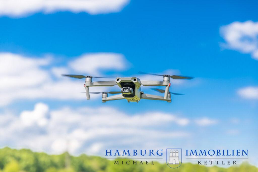 Drohne Mavic Air 2 im Flug
