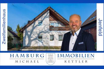 Großzügiges Zweifamilienhaus mit ca. 215 m² in 22043 Hamburg Jenfeld, 22043 Hamburg, Zweifamilienhaus