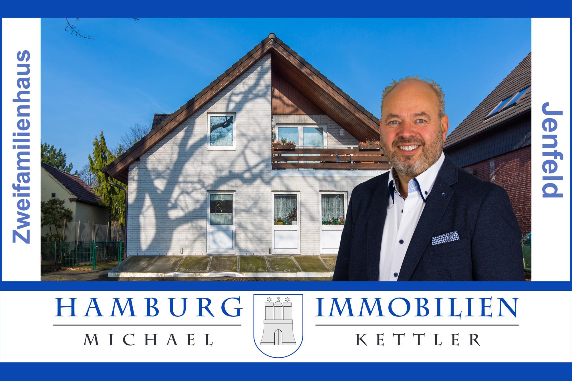 Großzügiges Zweifamilienhaus mit ca. 215 m² in 22043 Hamburg Jenfeld