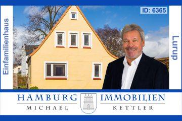 4-Zimmerhaus, ca. 74 m² auf ca. 983 m² Erbpachtgrundstück in 22549 Hamburg-Lurup, 22549 Hamburg / Lurup, Einfamilienhaus