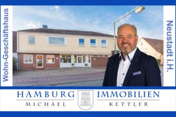 Wohn- und Geschäftshaus mit 565m² + Keller und 544m² Grundstück in 23730 Neustadt, 23730 Neustadt in Holstein, Haus