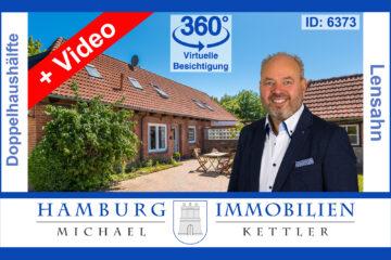 Doppelhaushälfte Anno 1906 ca. 113 m² auf ca. 534 m² Grundstück in 23738 Lensahn, 23738 Lensahn, Doppelhaushälfte