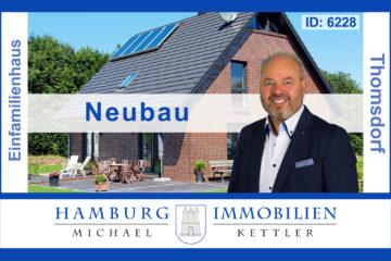 Zwei zum Preis von einem, Neubau ca. 138m² + vermietetes Haus (3WE) in 23738 Thomsdorf, 23738 Riepsdorf / Thomsdorf, Einfamilienhaus