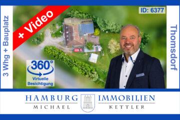 Mehrgenerationenhaus mit einer freien Wohnung 5km zum Ostseestrand, 23738 Riepsdorf / Thomsdorf, Mehrfamilienhaus