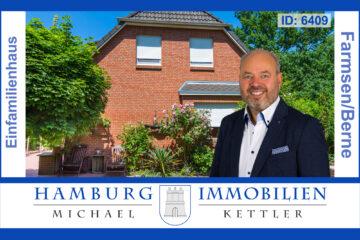 Modernes Einfamilienhaus mit Traumgarten in 22159 Hamburg, 22159 Hamburg, Einfamilienhaus