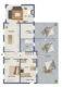 Einfamilienhaus ca. 145m² 5 Zimmer auf ca. 814m² Grundstück in 23749 Grube - Grundriss-Skizze EG