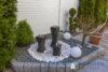 Ruhig gelegenes Einfamilienhaus + Einliegerwohnung + 2 Gästezimmer m. Bad direkt in 23743 Grömitz - Terrasse Wasserspiele