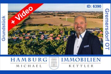 Ca. 690 m² Baugrundstück für Einfamilienhaus Bungalow in 23758 Gremersdorf / Jahnshof, 23758 Gremersdorf / Jahnshof, Wohngrundstück