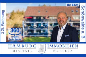 3 Zimmer ca. 100m² Eigentumswohnung mit Balkon in 23744 Schönwalde am Bungsberg, 23744 Schönwalde am Bungsberg, Etagenwohnung